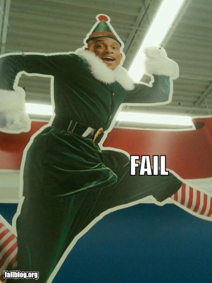 Elf Display FAIL