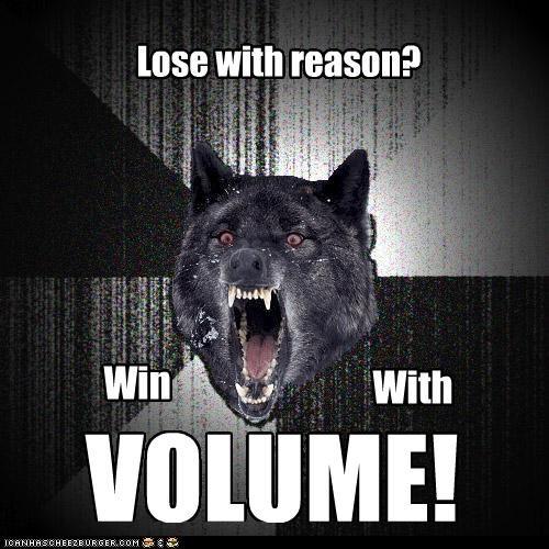 arguments,glenn beck,Insanity Wolf,politics,talking head,volume