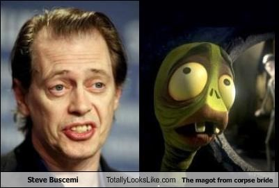 Steve Buscemi Totally Looks Like The magot from corpse bride