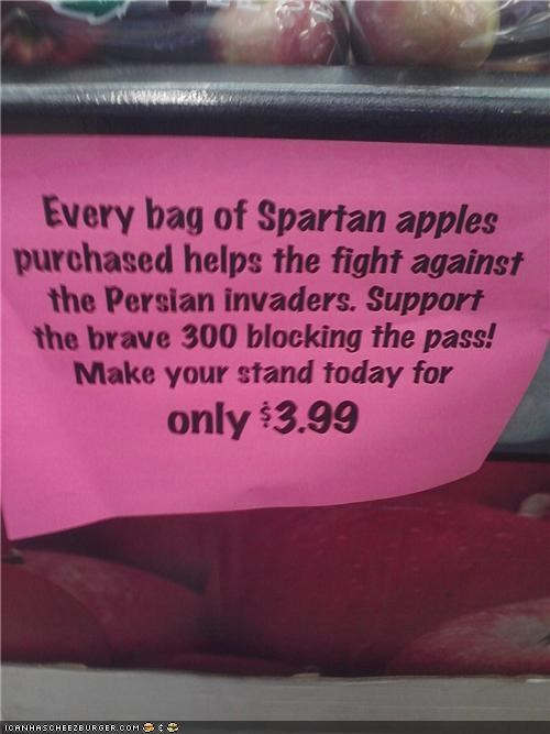 Spartan Apples WIN