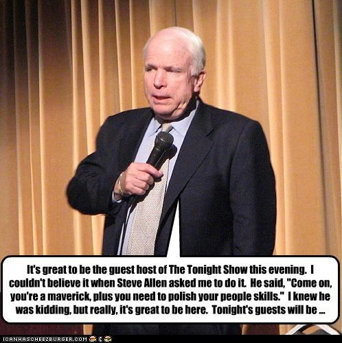 McCain: Alternate Realities, The Early Years