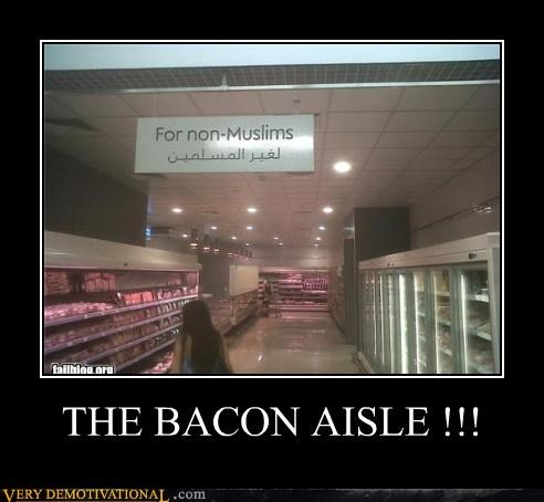 THE BACON AISLE !!!