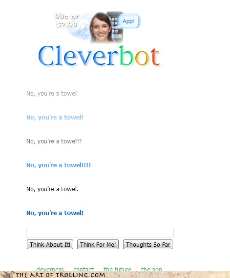 Not So Clever Cleverbot