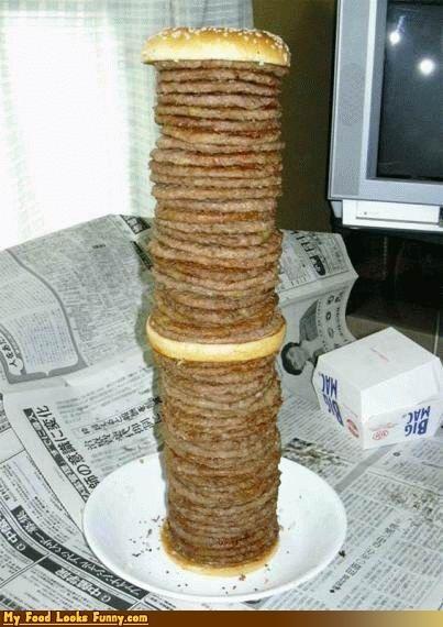 Funny Food Photos - 54 Patty Big Mac
