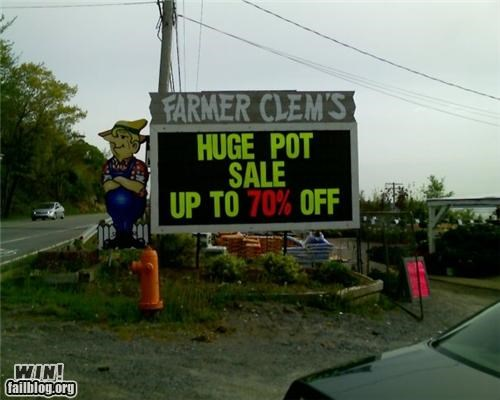 Pot Sale WIN
