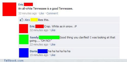 An All-White Tennessee