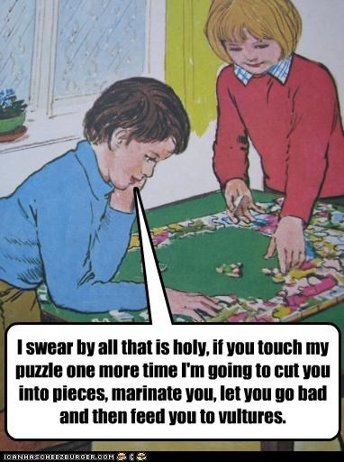 Puzzles: SERIOUS BUSINESS