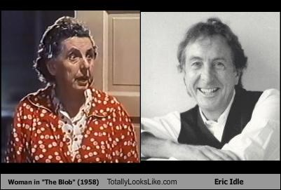 "Woman in ""The Blob"" (1958) Totally Looks Like Eric Idle"
