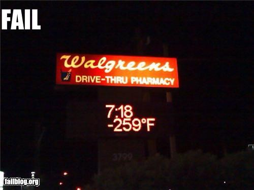 Temperature Fail.