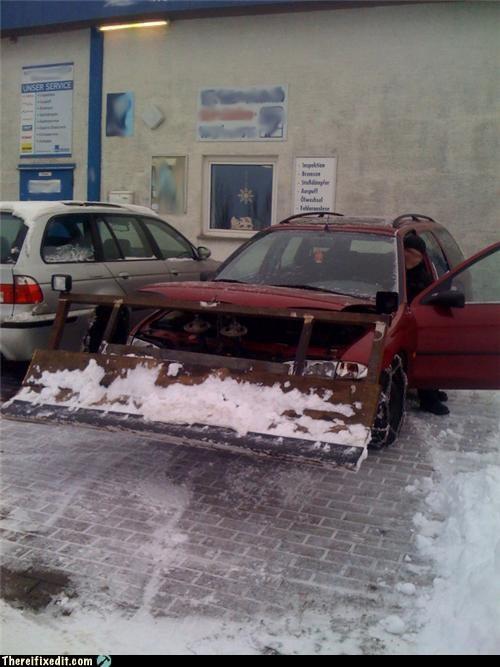 Snow Longer a Problem