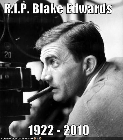 blake edwards,Death,director,pink panther,rip
