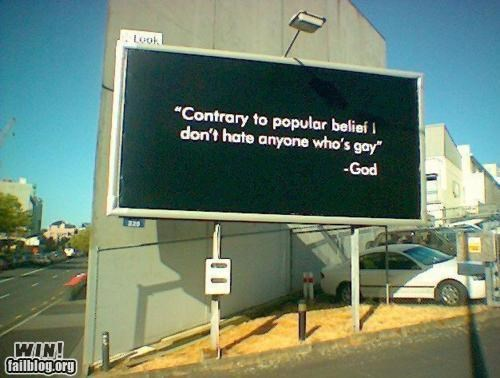 Religious Billboard WIN