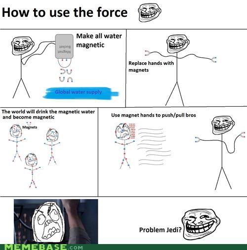Troll Science: The force