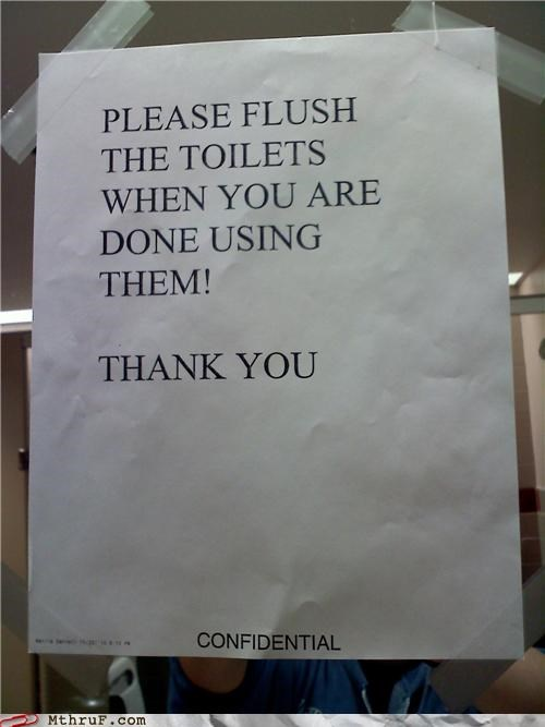 Top Secret: FLUSH!