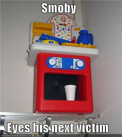 Smoby   Eyes his next victim