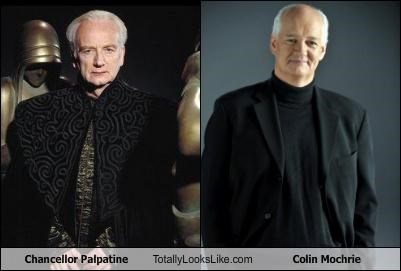 Chancellor Palpatine Totally Looks Like Colin Mochrie