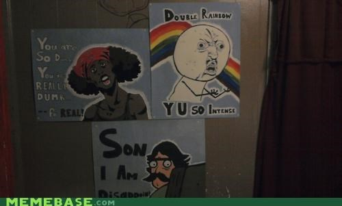 Antoine Dodson,double rainbo,i am disappoint,The Internet IRL,Y U NO