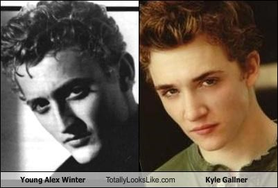 Young Alex Winter Totally Looks Like Kyle Gallner