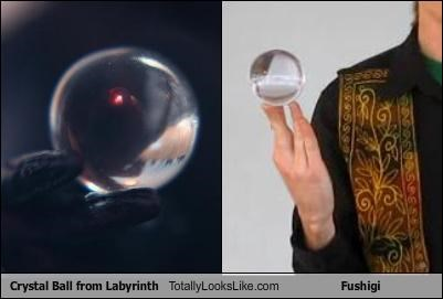 Crystal Ball from Labyrinth Totally Looks Like Fushigi