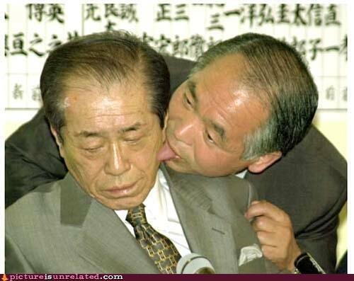 creepy,Japan,politics,tongues,wtf