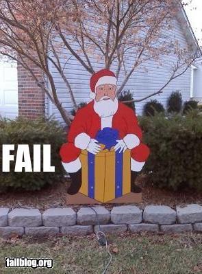 box,decoration,failboat,innuendo,junk,presents,santa,Why Do I Live Here