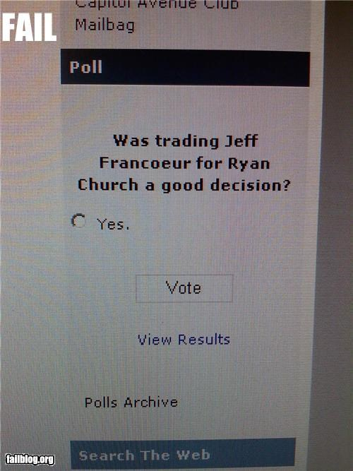 choices,failboat,g rated,polls,sports,trades