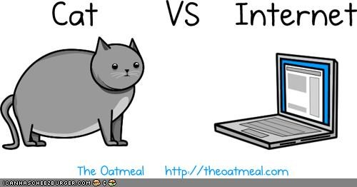 Kitteh Komic of teh Day: Cat vs. Internet
