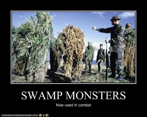 SWAMP MONSTERS