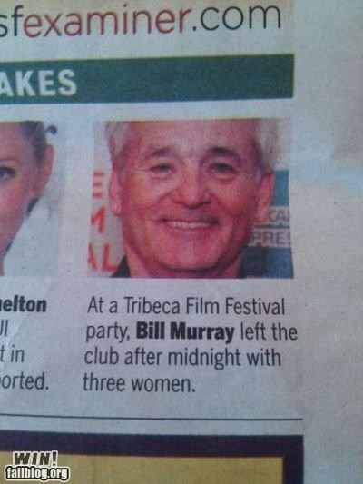 Bill Murray WIN