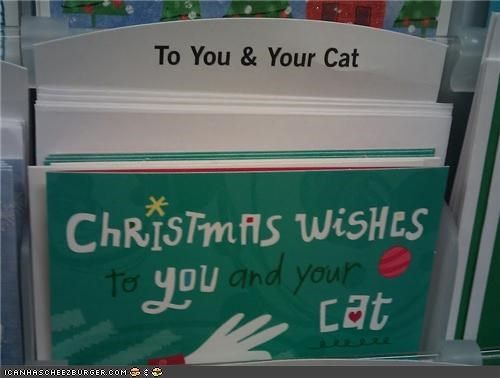 Finally, a Holiday Card for Cat People!