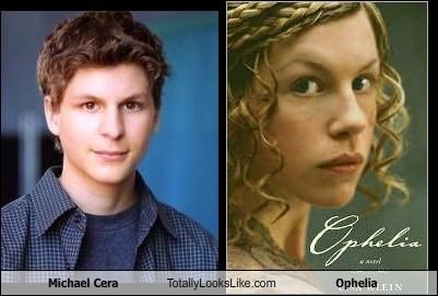 Michael Cera Totally Looks Like Ophelia