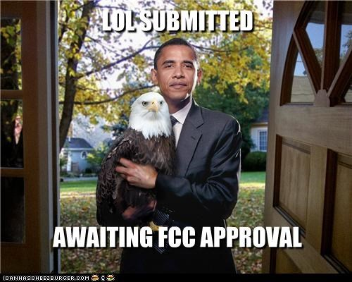 LOL SUBMITTED       AWAITING FCC APPROVAL