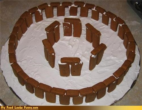 Funny Food Photos - Gingerbread Stonehenge