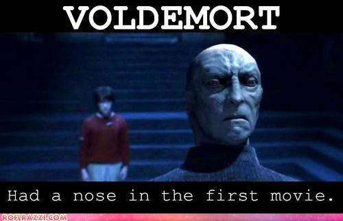 Voldemort Had Nose? Mind = Blown