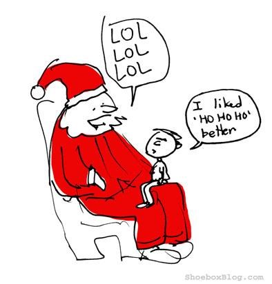 Santa's Attempt At Being Relevant