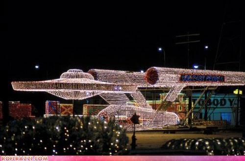 christmas,funny,Hall of Fame,holiday,sci fi,Star Trek,USS Enterprise