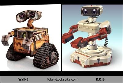 Wall-E Totally Looks Like R.O.B