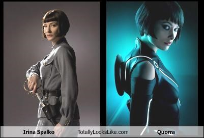 Irina Spalko  Totally Looks Like Quorra