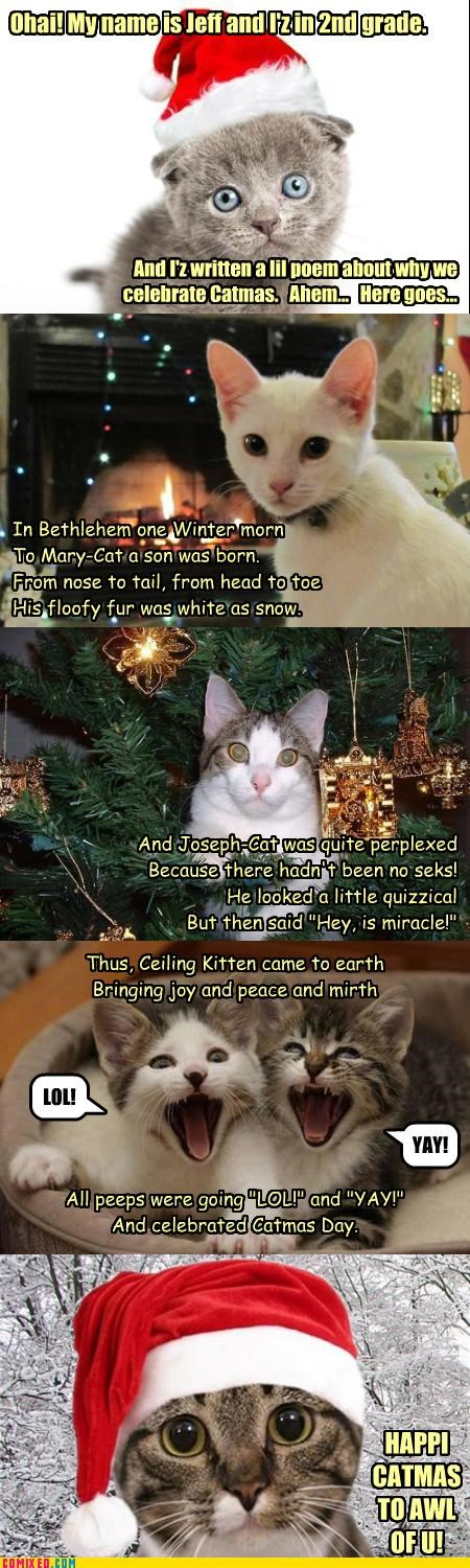 A Catmas Carol by JeffMurdoch (2nd grade)
