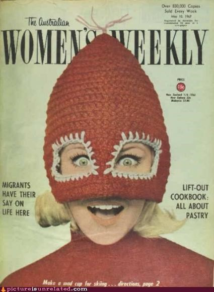 australia,cool hat,fashion,hat,magazine,wtf