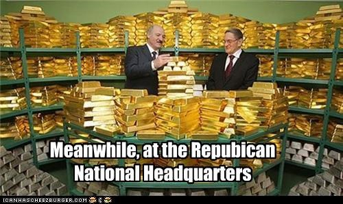 Meanwhile, at the Repubican National Headquarters