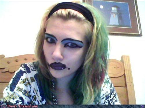 eww,lipstick,make up,wtf