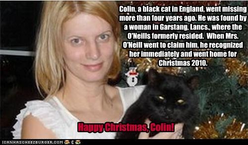 Happy Christmas, Colin!