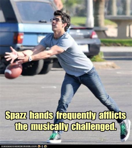 Spazz Hands: Real Musicians Unaffected