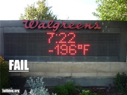 Temperature Fail