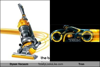 Dyson Vacuum  Totally Looks Like Tron