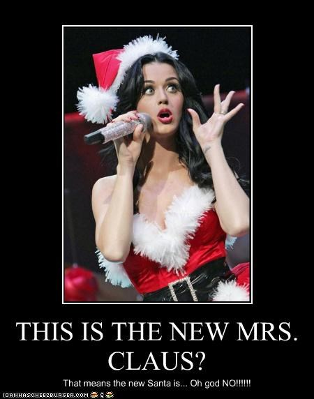 THIS IS THE NEW MRS. CLAUS?