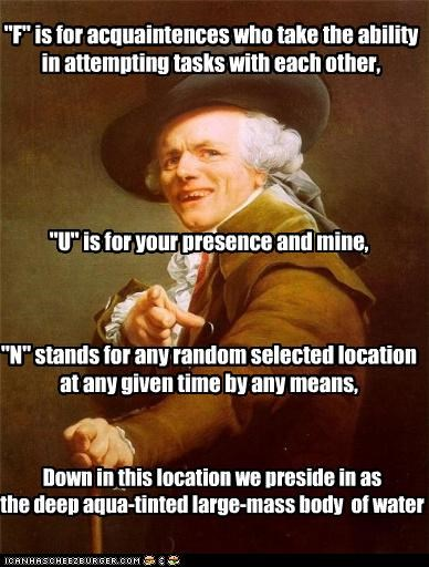 Joseph Ducreux: What The FUN?
