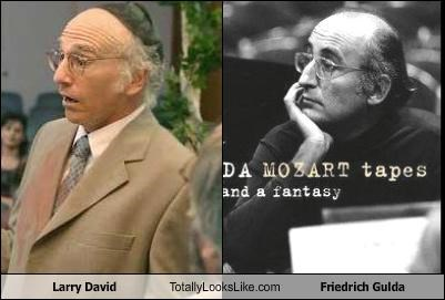 Larry David Totally Looks Like Friedrich Gulda
