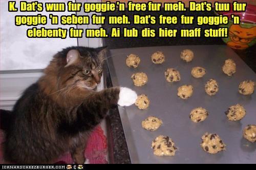 caption,captioned,cookie dough,cookies,counting,goggie,math,noms,unfair